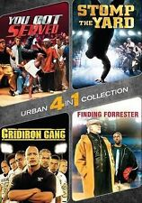 4-IN-1 URBAN COLLECTION New DVD You Got Served Stomp the Yard Gridiron Forrester