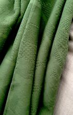 Vintage Fabric Sale Designer Green Aztec Cotton Jacquard Curtain Fabric 5 Mtr