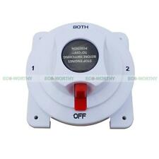 Marine Boat Battery Disconnect Selector Switch Replace 4 Pos:1,2,Both,Off