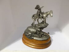 appeal to the great spirit ltd ed 1987 pewter sculpture by j j barnum (chilmark)