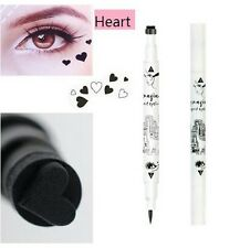 Uk Black eyeliner liquid STAR stamp design double ended eye liner beauty