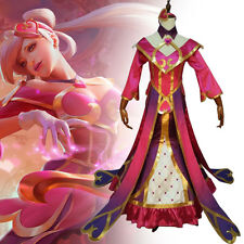 LOL League of Legend Sona Maven of The Strings Cosplay Dress Comic Con Partywear