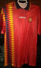 SPAIN ESPAÑA 1994  MUNDIAL M Camiseta Futbol Football Shirt