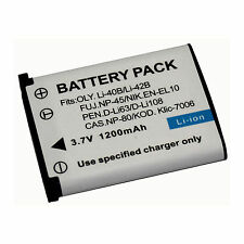 Li-ion Camera Battery (1-Pack) for Fujifilm NP-45,NP-45A,NP-45B,NP-45S, NP45S