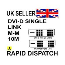 GP992 DVI-D Male - DVI-D Male Single Link Cable 10m 18+1 pins