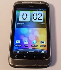 HTC Wildfire S Black Grey (Unlocked) Smartphone Mobile PG76100
