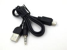 USB 2.0 Stecker auf Mini Klinkenstecker 3.5 mm Audio Daten Kabel 50cm