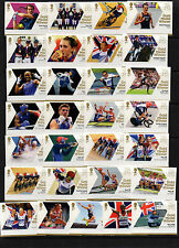 2012 BOTH OLYMPIC (29) AND PARALYMPIC (34) SETS COMPLETE AND FREE GIFT SEE BELOW