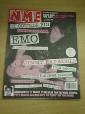 NME 2002 JAN 26 RICHEY MANIC FRED DURST TRAVIS STRIPES