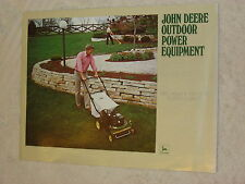 1980 JOHN DEERE OUTDOOR POWER EQUIPMENT 16 PAGE BROCHURE MINT