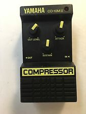 Yamaha CO-10MII Analog Compressor Sustainer Rare Vintage Guitar Pedal MIJ Japan