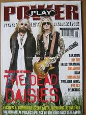 Power Play August 2016 The Dead Daisies Sabaton Delain Fates Warning Soilwork