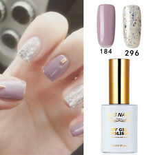 2 PIECES RS 184_296 Gel Nail Polish UV LED Varnish Glitter Soak Off New Stock