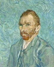 "VAN GOGH - SELF PORTRAIT - UNSTRECHED UNFRAMED CANVAS 16"" x 19""(430)"