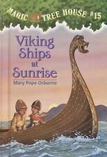 Magic Tree House #15: Viking Ships at Sunrise-ExLibrary