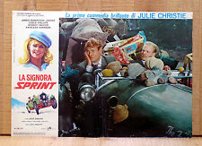 LA SIGNORA SPRINT fotobusta poster The Fast Lady Julie Christie Rolls Royce Car