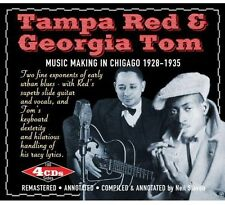 Music Making In Chicago 1928-35 - Tampa & Tom Georgia  (2012, CD NEUF)4 DISC SET