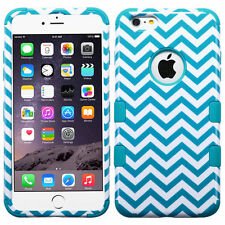 """New Tuff HYBRID Hard Case Cover Blue Wave Tropical For Apple iPhone 6 PLUS 5.5"""""""