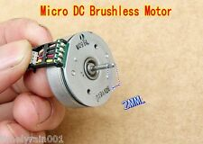 1pcs Micro DC Brushless Motor Outer rotor 3-Phase 9-pole coil