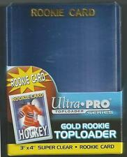 (25) Ultra Pro Rookie Gold Regular Toploaders - BRAND NEW