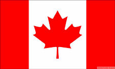 """CANADA BUDGET FLAG small 9""""x6"""" GREAT FOR CRAFTS Canadian"""