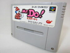 Super Famicom MR. DO ! Nintendo Video Game Cartridge Only sfc