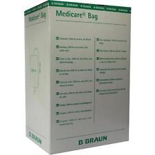 MEDICARE Bag 2000ml unst.m.90cm Schlauch u.Abl. 10St Beutel PZN 728658