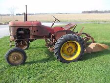 Massey Harris Pony tractor 2-way plow ORGINAL MH Paint Decals 1-Owner Runs Great