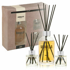 Fragrance Reed Diffuser Aroma Gift Set 3 Scents Fragrant Home Air Freshener New