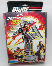 GI Joe Air Defense Battle Station With Box Vintage Loose Playset Hasbro 1985