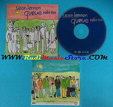 CD Singolo Sean Lennon Queue VISA 4432 FRANCE 1998 CARDSLEEVE PROMO(S22)