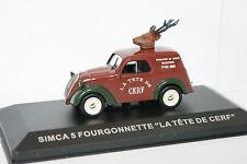 Ixo Stampa 1/43 - Simca 5 Van La testa di Cervo