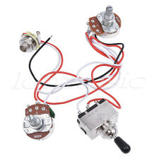 Electric Guitar Wiring Harness Kit 3 Way Toggle Switch 1v1t For Les Paul Parts