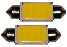 2x ampoule C5W 12V LED COB HIGH POWER 1.5W 41mm navette éclairage intérieur