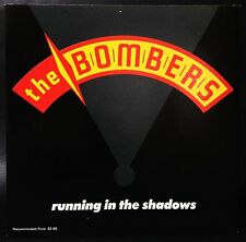 "THE BOMBER""S Running In The Shadows Picture Cover 7"" Single Status Quo, Angels"