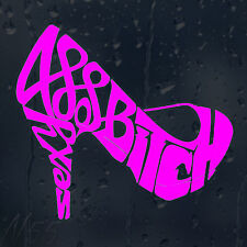 Sexy Bitch Shoe Car Window Windscreen Body Panel Laptop Wall Decal Vinyl Sticker