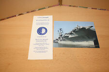 U.S.S.INTREPID UNITED STATES NAVY AIRCRAFT CARRIER CV 11  CVA 11  CVS 11