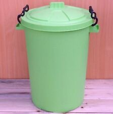 80/85L Litre Heavy Duty Bin Garden Homes Animal Feed Trendy Various Colours