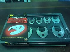 """GearWrench 3/8"""" 11pc SAE Ratcheting Crowfoot Wrench Set 89118 - NEW!!!!"""