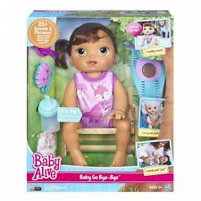 Baby Alive Doll Baby Alive Baby Go Bye Bye (Brunette) Talks English & Spanish