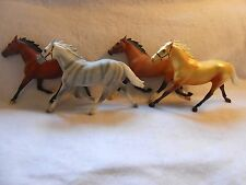 Breyer Pacers Lot of 4  Beautiful High Quality Carpet Herd,
