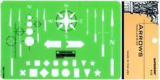 Berol Rapidesign Template - Arrows - R-53