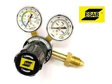 Riduttore di pressione miscela Argon/CO2 ESAB GF250 a 2 manometri per saldatrice