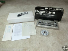 Roland tb-303 Bass Line en OVP, midi in/out modification, 2j. garantie