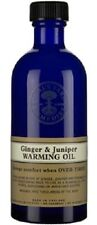 Neal's Yard Remedies Ginger & Juniper Warming Oil 100ml. BBE 04/18