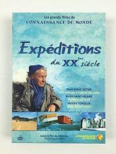 Coffret DVD Connaissance du monde Expéditions du XXème siècle Paul-Emile Victor
