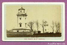 CDV LE HAVRE : LES PHARES DE SAINTE ADRESSE, PHARES DE LA HÈVE VERS 1880 -A166