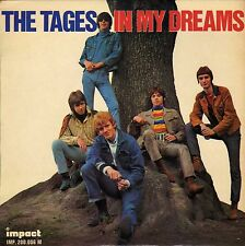 """THE TAGES IN MY DREAMS FRENCH ORIG EP 45 PS 7"""""""