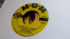 Sarah Vaughan 45 I Can't Get Started/What a Difference a Day Makes MGM 10762