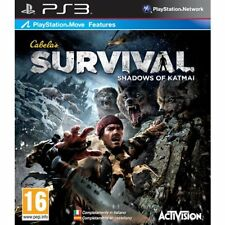 Cabela's Shadow of Katmai playstation 3  PS3   NUOVO !!!